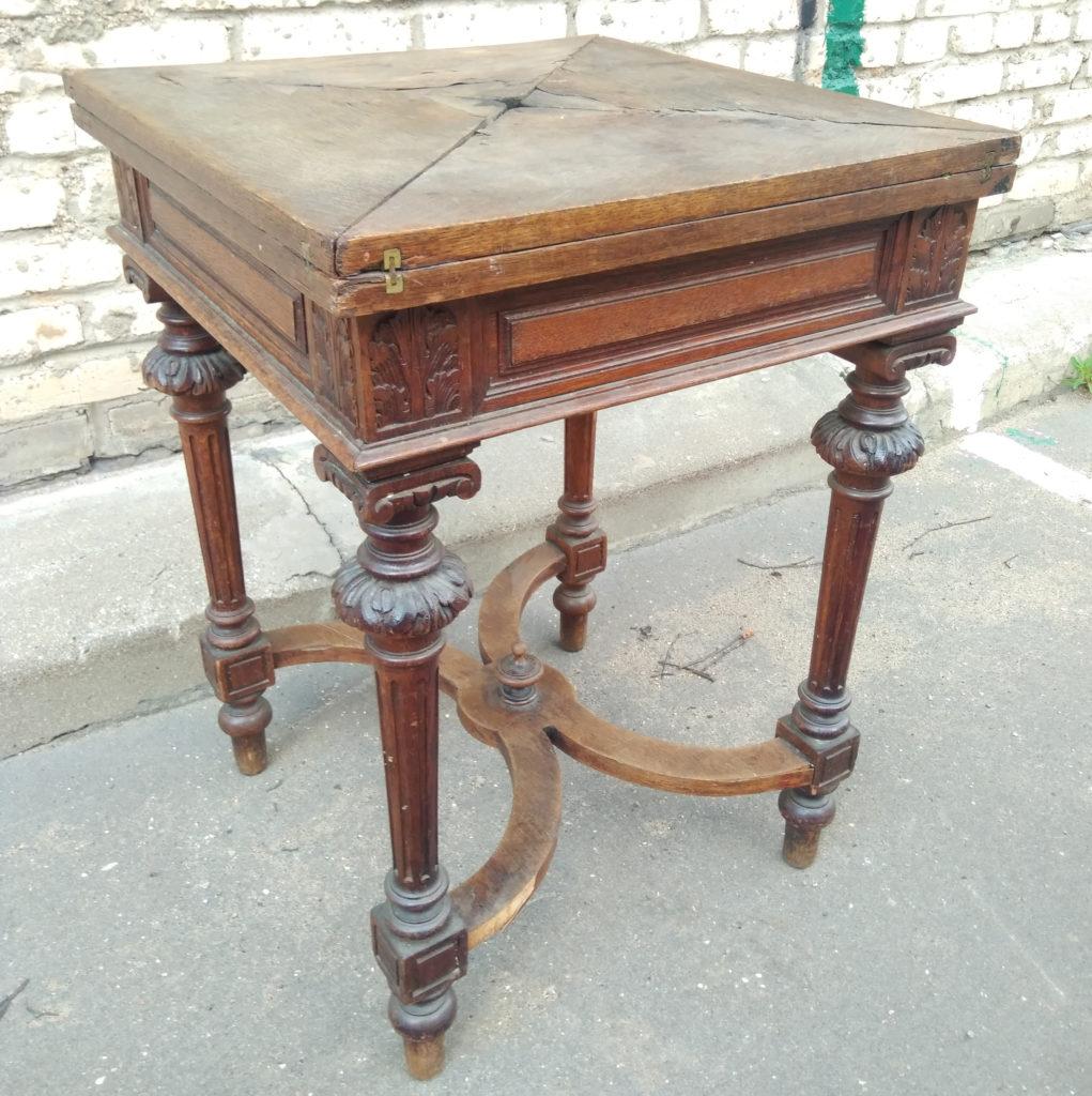 Ломберный столик фото